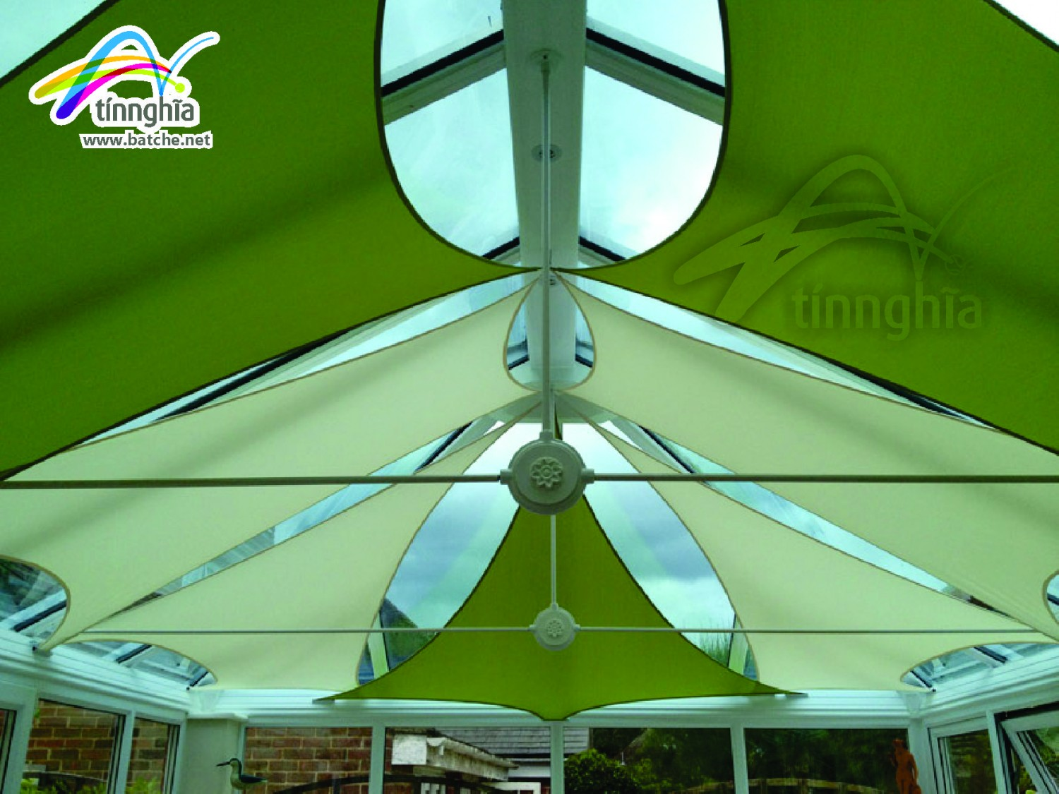 Shade Sails for Soccer Court (5 persons)