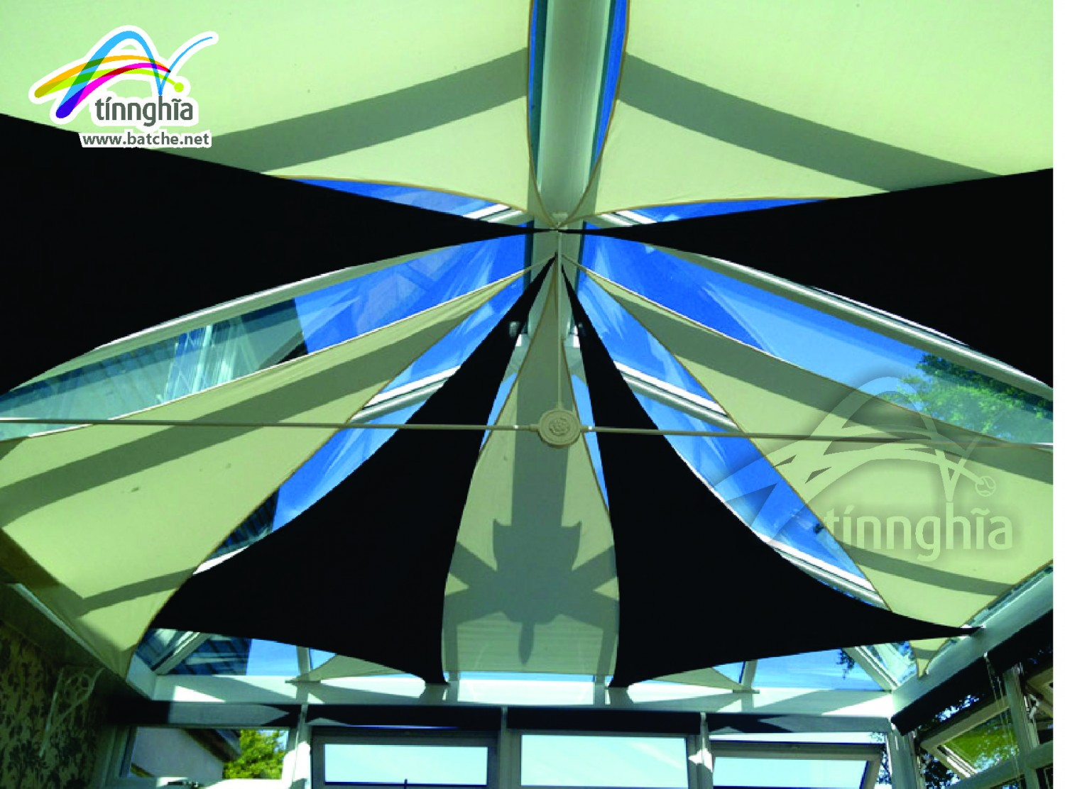 Shade Sails for Soccer Court (7 persons)
