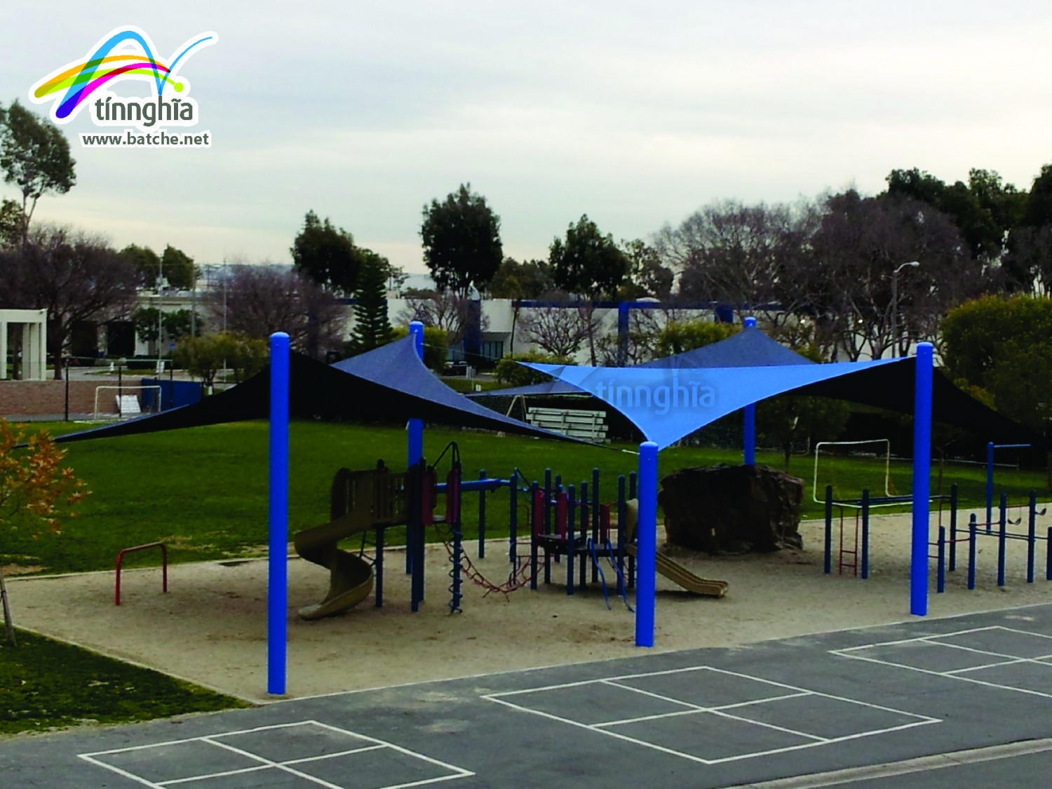 Pergola for School Play Ground