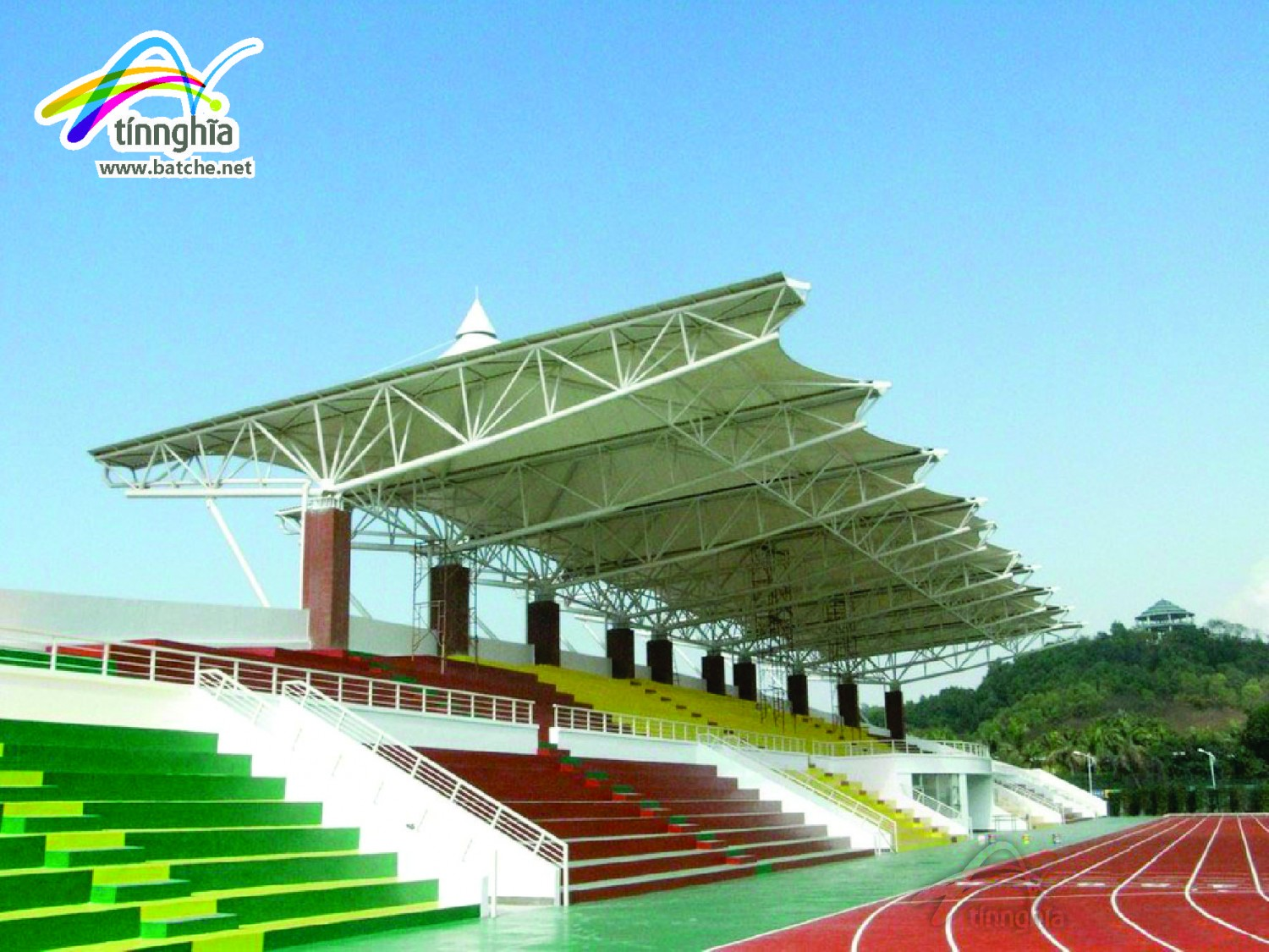 Shade Sails for Sport Court
