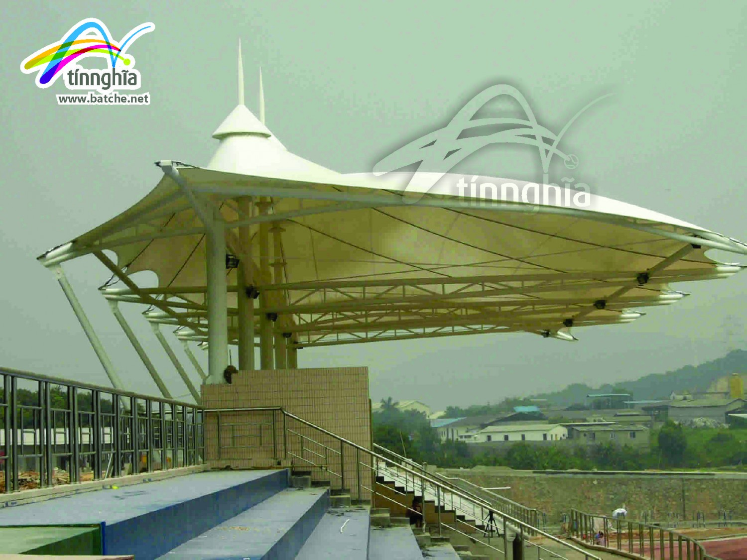 Shade Sails for Basket Ball Court