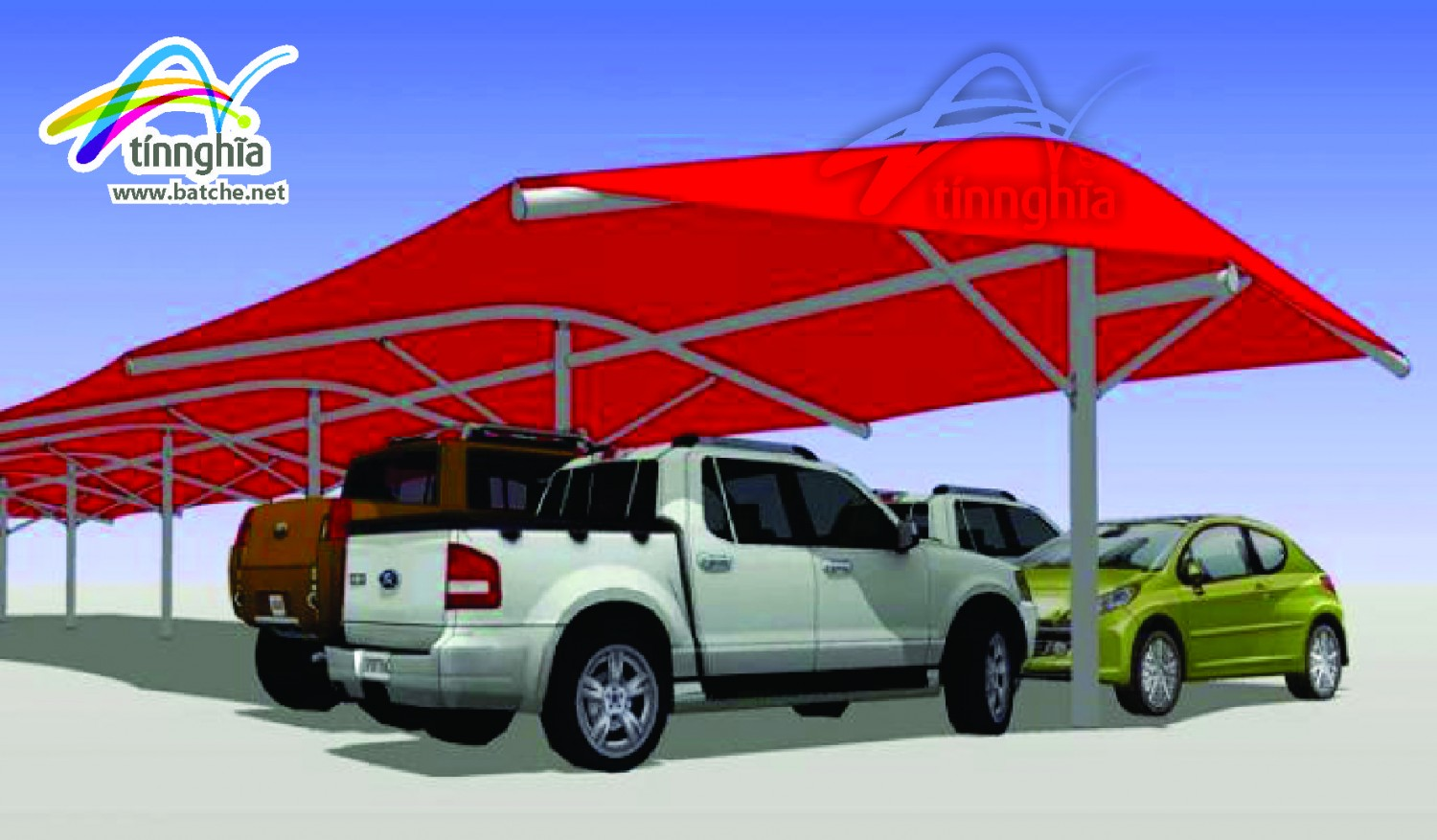 Shade Sails for Apartment Garage